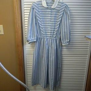 Vintage Periwinkle Dress